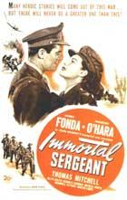 Immortal Sergeant - 11 x 17 Movie Poster - Style B