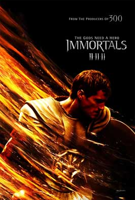 Immortals - 11 x 17 Movie Poster - Style A