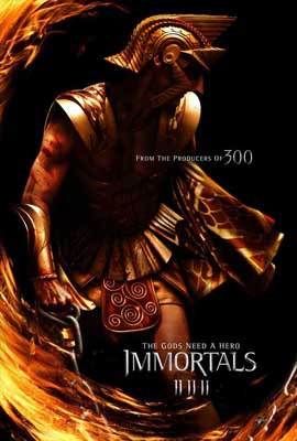 Immortals - 11 x 17 Movie Poster - Style B