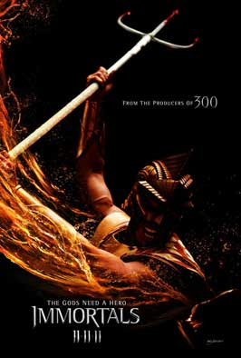 Immortals - 43 x 62 Movie Poster - Bus Shelter Style D