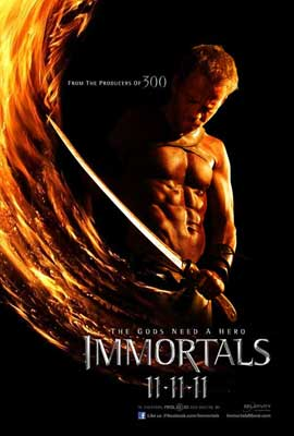 Immortals - 27 x 40 Movie Poster - Style F