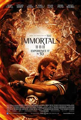 Immortals - 27 x 40 Movie Poster - Style I
