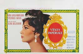 Imperial Venus - 11 x 17 Movie Poster - Belgian Style A