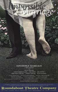 Impossible Marriage (Broadway) - 27 x 40 Poster - Style A