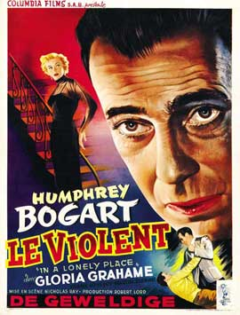 In a Lonely Place - 11 x 17 Movie Poster - Belgian Style A