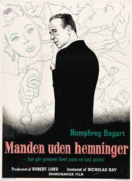 In a Lonely Place - 11 x 17 Movie Poster - Danish Style E