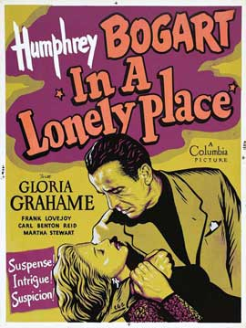 In a Lonely Place - 11 x 17 Movie Poster - Style G