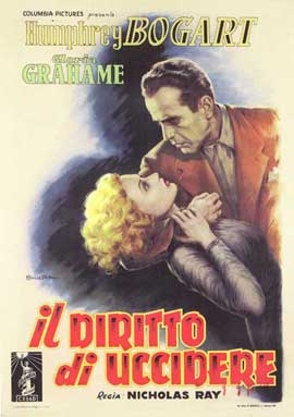 In a Lonely Place - 11 x 17 Movie Poster - Italian Style A
