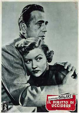 In a Lonely Place - 11 x 17 Movie Poster - Italian Style C