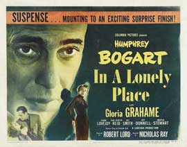 In a Lonely Place - 22 x 28 Movie Poster - Half Sheet Style B