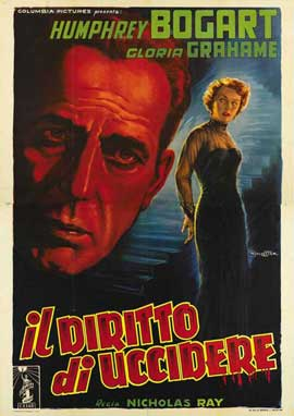 In a Lonely Place - 11 x 17 Movie Poster - Italian Style D