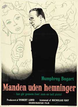 In a Lonely Place - 11 x 17 Movie Poster - Danish Style A