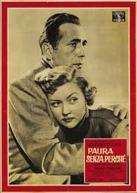 In a Lonely Place - 11 x 17 Movie Poster - Italian Style F