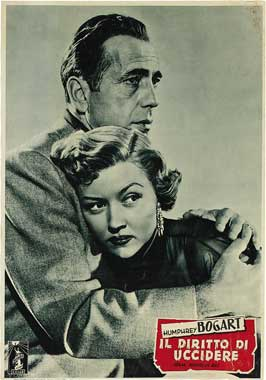 In a Lonely Place - 11 x 17 Movie Poster - Italian Style H