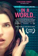 """In a World�"" Movie Poster"