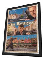 In Bruges - 27 x 40 Movie Poster - Style A - in Deluxe Wood Frame