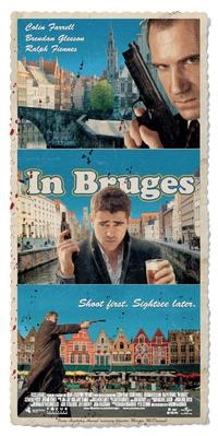 In Bruges - 20 x 60 - Door Movie Poster - Style A
