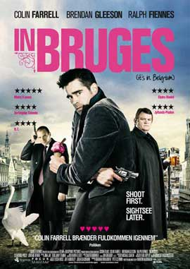 In Bruges - 11 x 17 Movie Poster - Danish Style A