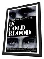 In Cold Blood - 27 x 40 Movie Poster - Style A - in Deluxe Wood Frame