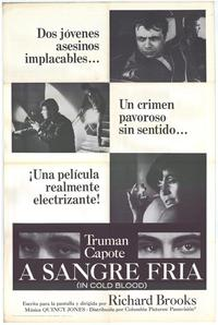 In Cold Blood - 11 x 17 Movie Poster - Spanish Style A