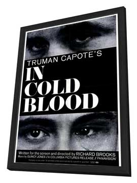 In Cold Blood - 11 x 17 Movie Poster - Style A - in Deluxe Wood Frame
