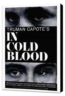 In Cold Blood - 27 x 40 Movie Poster - Style A - Museum Wrapped Canvas