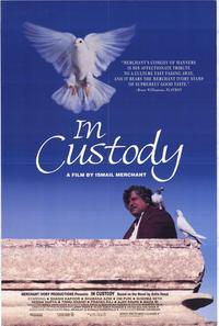 In Custody - 43 x 62 Movie Poster - Bus Shelter Style A