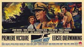 In Harm's Way - 11 x 17 Movie Poster - Belgian Style A