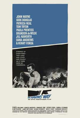 In Harm's Way - 27 x 40 Movie Poster - Style B