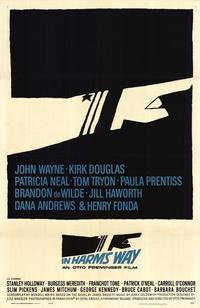 In Harm's Way - 43 x 62 Movie Poster - Bus Shelter Style A