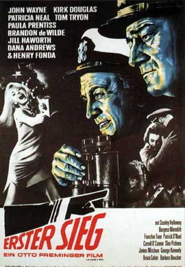 In Harm's Way - 11 x 17 Movie Poster - German Style A