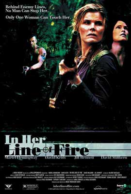 In Her Line of Fire - 27 x 40 Movie Poster - Style A
