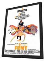 In Like Flint - 27 x 40 Movie Poster - Style A - in Deluxe Wood Frame