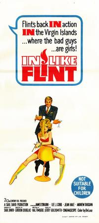 In Like Flint - 11 x 17 Movie Poster - Australian Style A