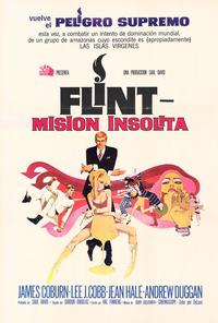 In Like Flint - 27 x 40 Movie Poster - Spanish Style A