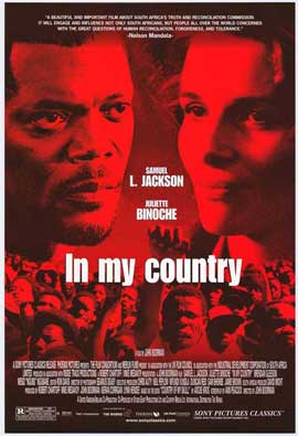 In My Country - 11 x 17 Movie Poster - Style A