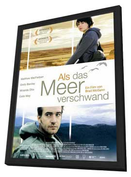 In My Father's Den - 11 x 17 Movie Poster - German Style A - in Deluxe Wood Frame