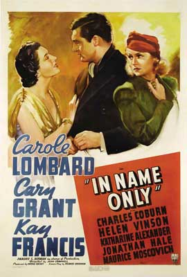 In Name Only - 27 x 40 Movie Poster - Style A