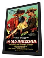 In Old Arizona - 27 x 40 Movie Poster - Style A - in Deluxe Wood Frame