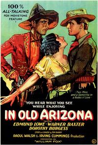 In Old Arizona - 43 x 62 Movie Poster - Bus Shelter Style A