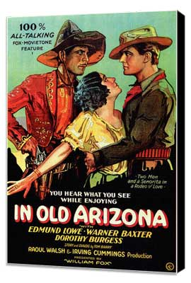 In Old Arizona - 27 x 40 Movie Poster - Style A - Museum Wrapped Canvas