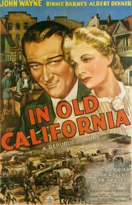 In Old California - 11 x 17 Movie Poster - Style A