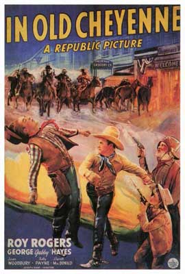 In Old Cheyenne - 27 x 40 Movie Poster - Style A