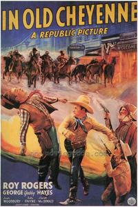 In Old Cheyenne - 43 x 62 Movie Poster - Bus Shelter Style A