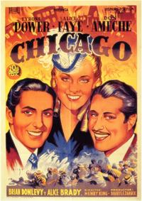 In Old Chicago - 11 x 17 Movie Poster - Spanish Style A