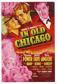 In Old Chicago - 11 x 17 Movie Poster - Style B