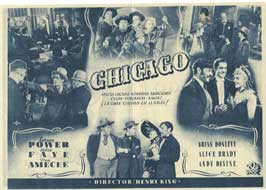In Old Chicago - 11 x 17 Movie Poster - Spanish Style B