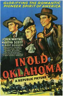 In Old Oklahoma - 11 x 17 Movie Poster - Style A