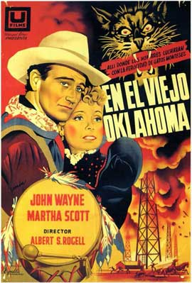 In Old Oklahoma - 11 x 17 Movie Poster - Spanish Style A