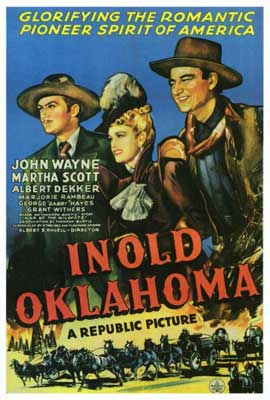In Old Oklahoma - 27 x 40 Movie Poster - Style A